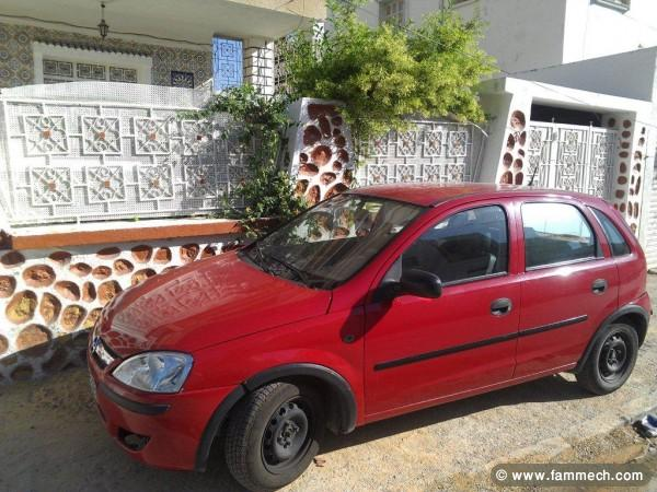 voiture occasion en tunisie opel corsa c jones. Black Bedroom Furniture Sets. Home Design Ideas