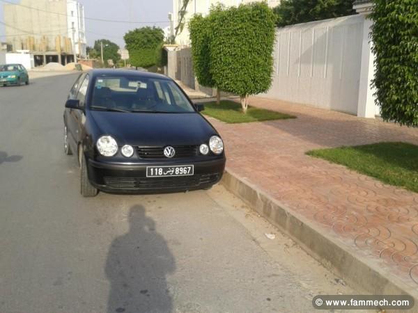 voitures tunisie volkswagen polo v sousse polo5 5 cv import e d 39 allemagne 4. Black Bedroom Furniture Sets. Home Design Ideas