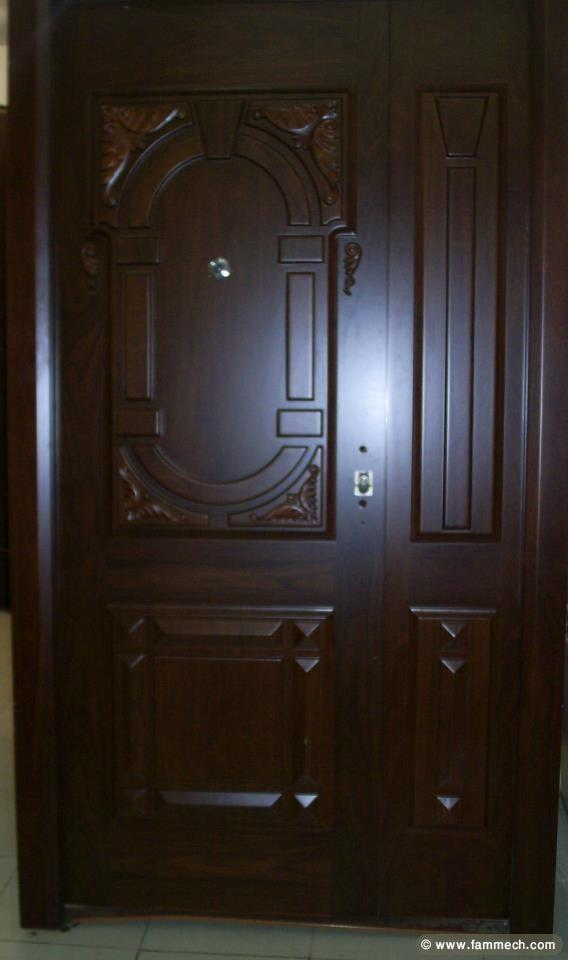 bonnes affaires tunisie maison meubles d coration porte blind e en bois. Black Bedroom Furniture Sets. Home Design Ideas