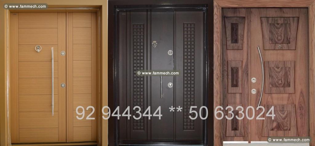 bonnes affaires tunisie maison meubles d coration porte d 39 entree blindee haute securite et. Black Bedroom Furniture Sets. Home Design Ideas