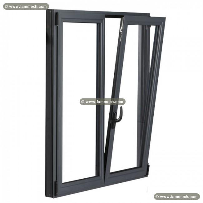 Porte fenetre en aluminium les derni res for Decoration fenetre aluminium