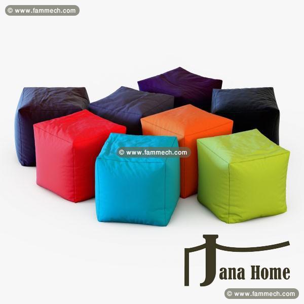 bonnes affaires tunisie maison meubles d coration pouf cube prix discount jana home. Black Bedroom Furniture Sets. Home Design Ideas