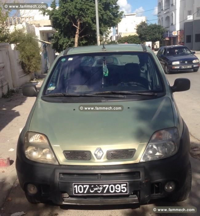 voitures tunisie renault scenic ben arous renault m gane scenic rx4 1 9 dci 1. Black Bedroom Furniture Sets. Home Design Ideas