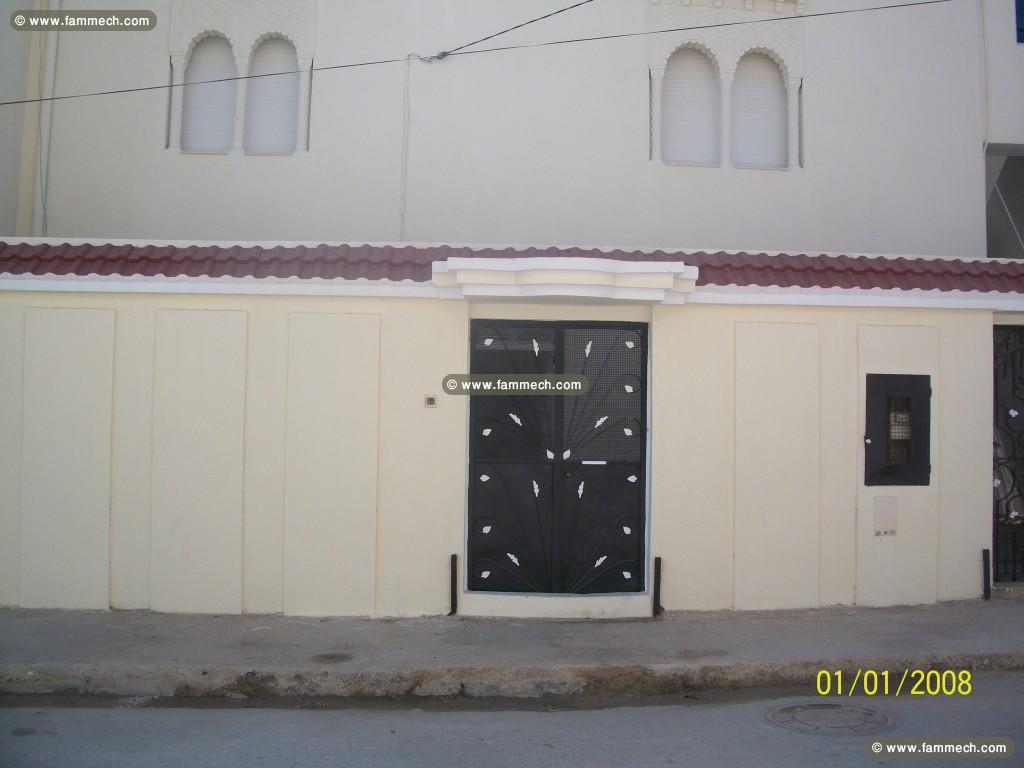 immobilier tunisie location maison mnihla rez de chauss e a louer cite errafaha. Black Bedroom Furniture Sets. Home Design Ideas