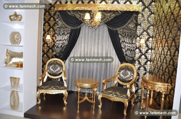des rideau salon tunisie gascity for. Black Bedroom Furniture Sets. Home Design Ideas