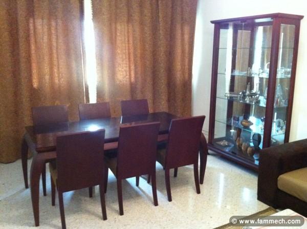 bonnes affaires tunisie maison meubles d coration salle manger 6 chaises argenti re. Black Bedroom Furniture Sets. Home Design Ideas