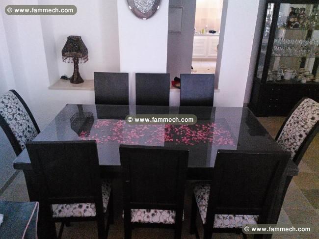 Bonnes affaires tunisie maison meubles d coration for Salle a manger 8 places