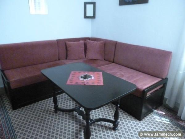Bonnes affaires tunisie maison meubles d coration for Salle de sejour en bois tunisie