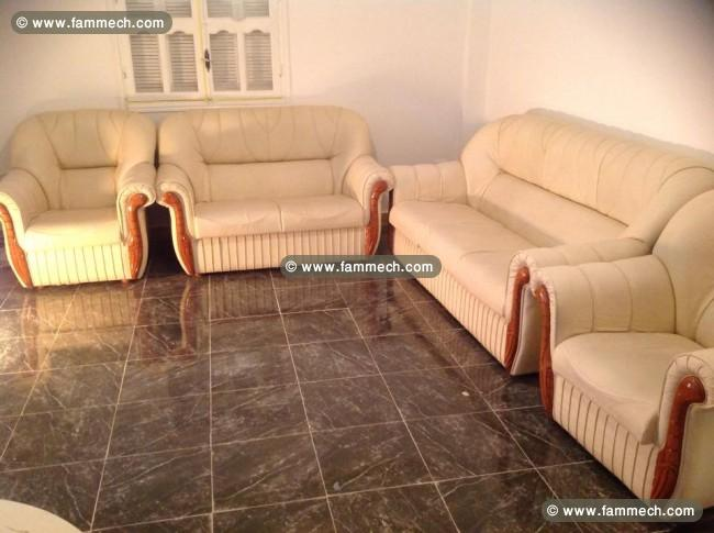 Bonnes affaires tunisie maison meubles d coration for Salon 7 places modernes