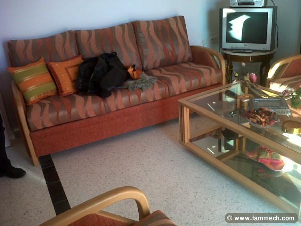 tunisie maison meubles dcoration salon tres chic avec bois de - Salon En Bois Et Tissu En Tunisie