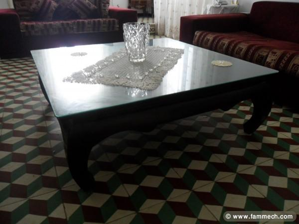 bonnes affaires tunisie maison meubles d coration table basse en bois blenz 1. Black Bedroom Furniture Sets. Home Design Ideas