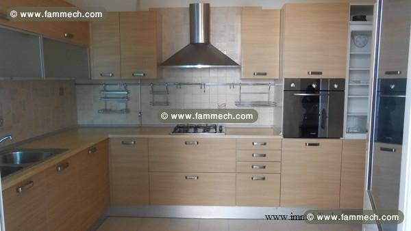 Immobilier tunisie vente appartement hammamet vente for Plan cuisine tunisienne