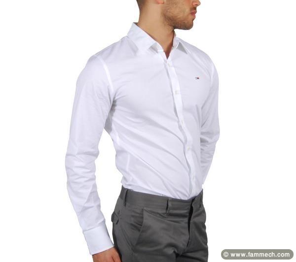bonnes affaires tunisie v tements accessoires vente chemise tommy pour hommes. Black Bedroom Furniture Sets. Home Design Ideas