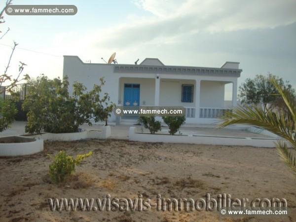 immobilier tunisie vente maison houmet essouk vente