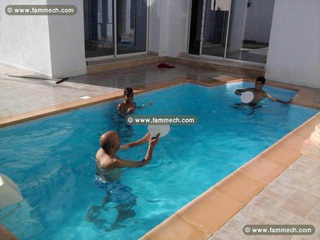 Immobilier tunisie location maison hammamet villa a for Piscine demontable tunisie