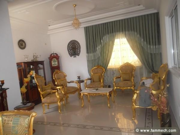 Immobilier tunisie vente maison akouda villa a vendre a sousse akouda 2 for Decoration staff maison
