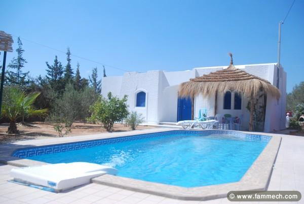 Immobilier tunisie location vacances houmet essouk for Piscine mobile louer
