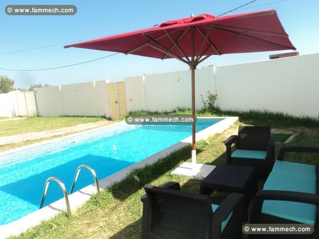 immobilier tunisie location vacances hammamet villa avec piscine hammamet. Black Bedroom Furniture Sets. Home Design Ideas