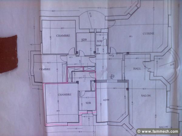 Plan maison tunisie plan maison jardin gratuit with plan for Plan de maison en tunisie