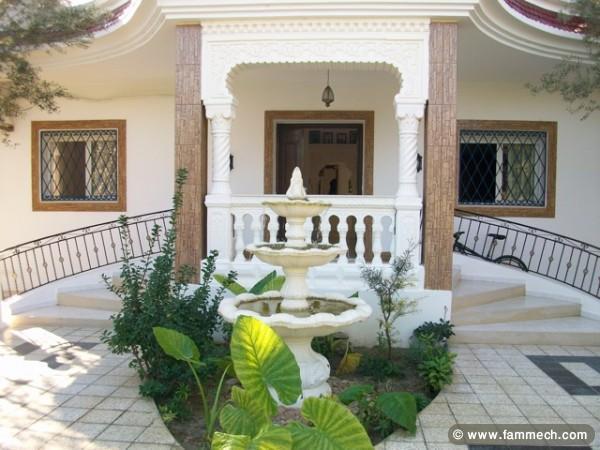 Immobilier tunisie vente maison hammamet villa la for Achat de maison en tunisie