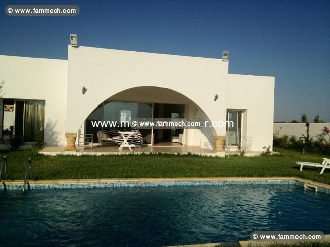 Immobilier tunisie location maison hammamet villa for Jardin 2000 tunisie
