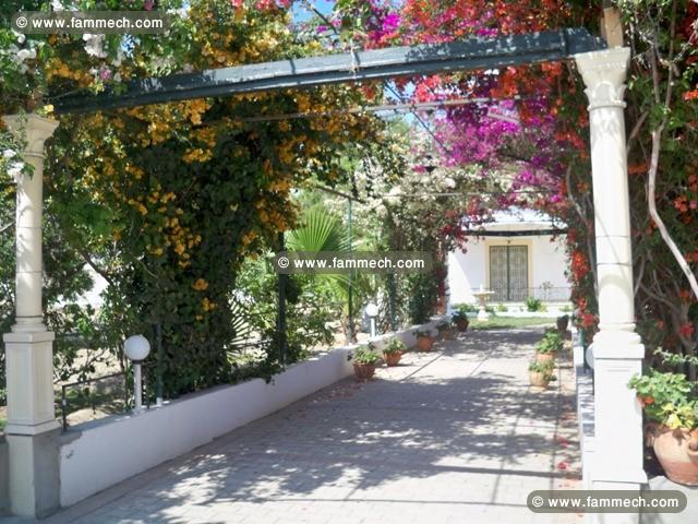 immobilier tunisie location vacances hammamet villa romana ref al1326 hammamet zone thetre. Black Bedroom Furniture Sets. Home Design Ideas
