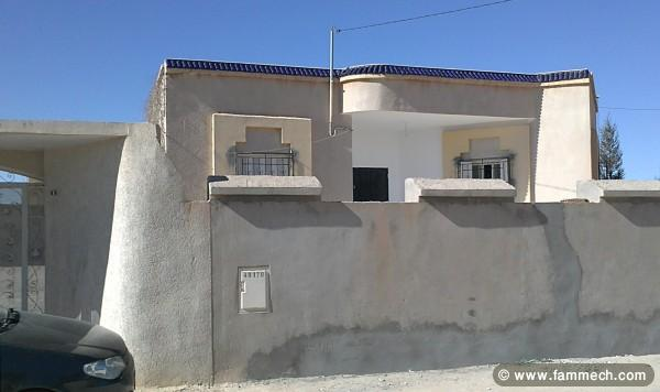 Immobilier tunisie vente maison metlaoui villas s 3 for Budget construction maison tunisie