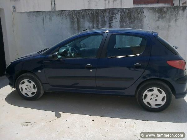 voitures tunisie peugeot 206 tunis voiture peugeot 206 a vendre. Black Bedroom Furniture Sets. Home Design Ideas