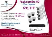 Pack 8 caméras Full HD Ideal Vision