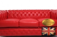 Canapé Original Rouge Chesterfield