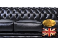 Original Canapé Chesterfield Brighton Noir