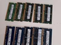 Barettes Memoires DDR3 PC PORTABLE