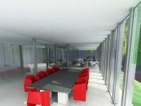Bureau et plateau Au Jardin de Carthage Neuf