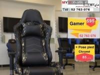 Chaise gamer tunisie livraison sur tout la tunisie