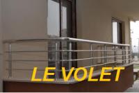 GARDE CORPS ET RAMPE D'ESCALIER LE VOLET