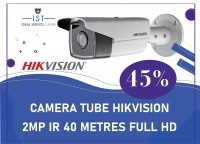 IST: CAMERA TUBE HIKVISION 2MP IR40 METRES FULL HD