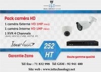 Pack 2 caméras Full HD Ideal Vision