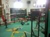 Salle de sport en pleine activité