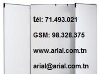 tableau blanc magnétique 1.20m x 1.00m