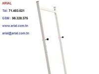 Tableau blanc magnétique 2.00m x 1.00m