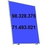 Tableau d'affichage 1.50m x 1.00m