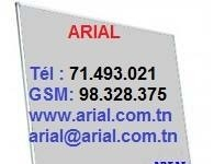 Tableau d'affichage 2.00m x 1.00m