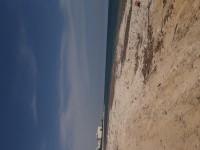Terrain directement sur la plage